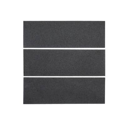 Basalt Gray 4 in. x 12 in. Honed Basalt Wall and Floor Tile (1 sq. ft./Pack)