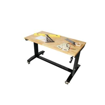 46 in. Adjustable Height Work Table
