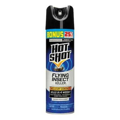 Flying Insect Killer 18.75 oz Aerosol Clean Fresh Scent