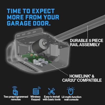 QuietLift 750 3/4 HPc Ultra-Quiet Belt Drive Garage Door Opener