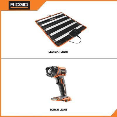 18V Cordless Torch Light and LED Mat Light Kit (Tools Only)