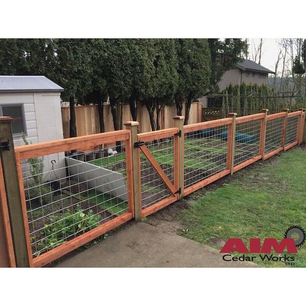 4 ft x 6 ft madison park panel hog