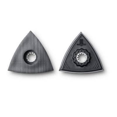 Triangle Backing Pad for Sanding Starlock (2-Pack)