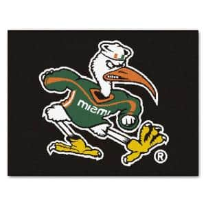 University of Miami 3 ft. x 4 ft. All-Star Area Rug