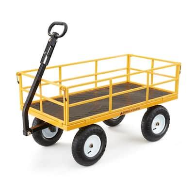 1,200 lbs. Heavy Duty Steel Utility Cart