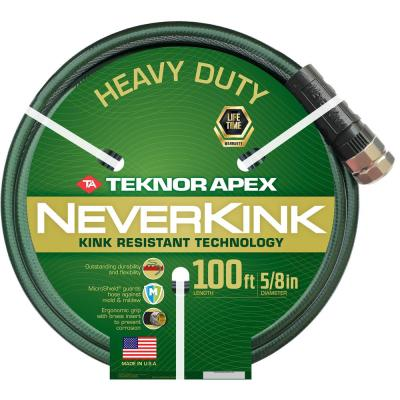 Neverkink 5/8 in. x 100 ft. Heavy Duty Garden Hose