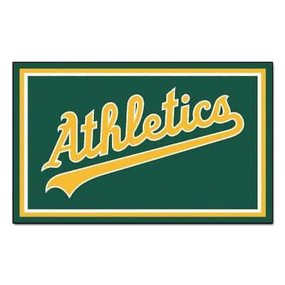 Oakland Athletics 4 ft. x 6 ft. Area Rug