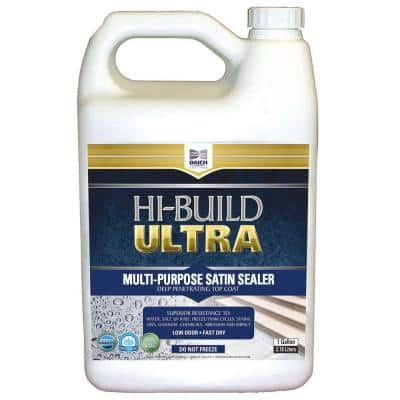 1 Gal. Satin Clear Coat Sealer Water and Chemical Resistant with Urethane