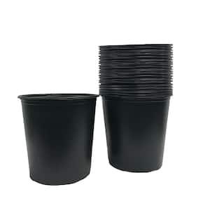 4.02 Gal./15.22 l/924 cu. in. 5 Gal. Plastic Nursery Pots (24-Pack)