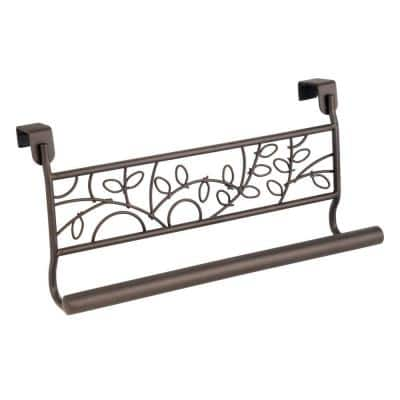 Twigz 9 in. Over The Cabinet Towel Bar in Bronze