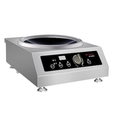3400-Watt Countertop Commercial Induction Range (220-Volt to 240-Volt)