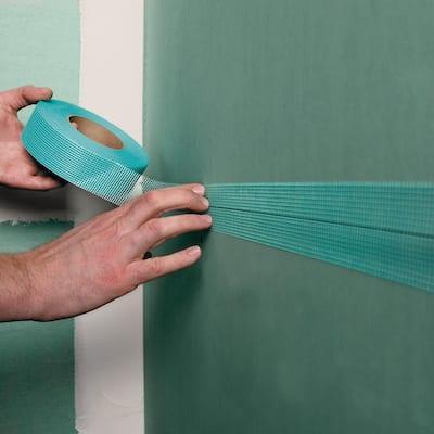 FibaTape Mold-X10 300 ft. Self-Adhesive Mesh Drywall Joint Tape