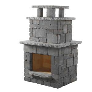 Bluestone Compact Outdoor Fireplace
