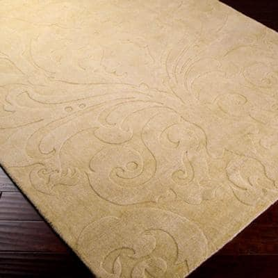 Candice Olson Beige 2 ft. x 3 ft. Area Rug