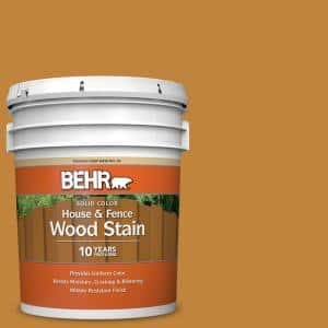 5 gal. #M260-7 Back To School Solid Color House and Fence Exterior Wood Stain