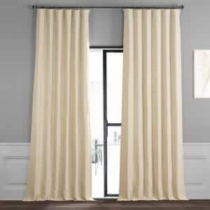 Candlelight Rod Pocket Blackout Curtain - 50 in. W x 120 in. L