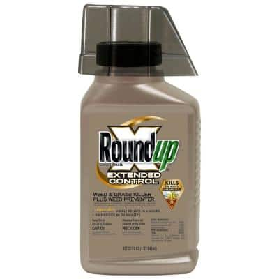 32 oz. Concentrate Extended Control Weed and Grass Killer Plus Weed Preventer