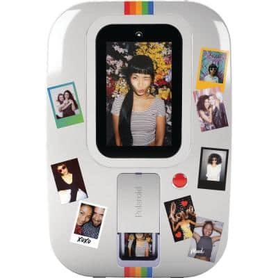 Polaroid Photobooth in White