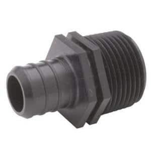 Polymer Male Pipe Thread Adapter 3/4 in. Barb x 3/4 in. MPT, Lead Free