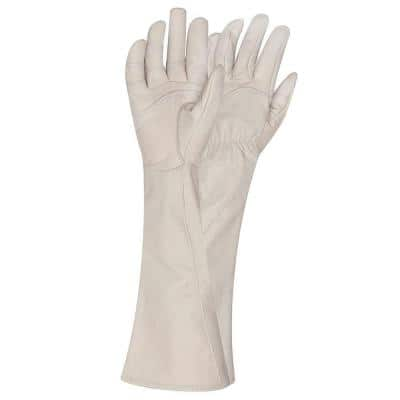 Large Rose Gauntlet Gardening Gloves