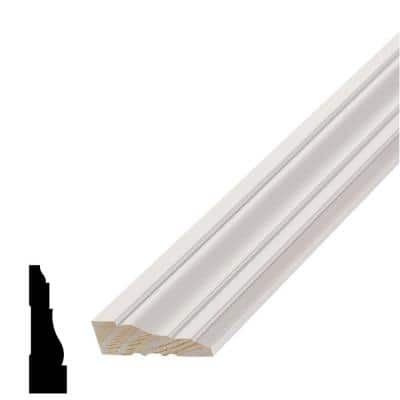 WM 366 11/16 in. x 2-1/4 in. x 84 in. Primed Pine Finger-Jointed Casing
