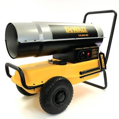 135,000 BTU Forced Air Kerosene Heater