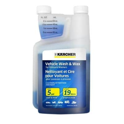 1 Qt. Vehicle Wash and Wax 20x Concentrate
