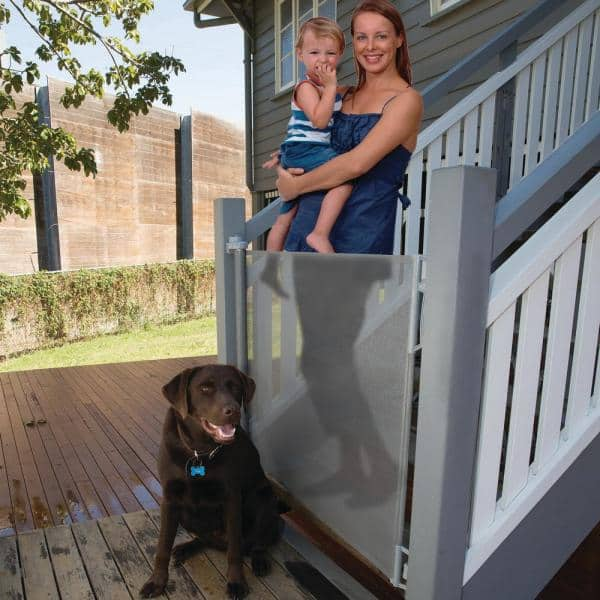 Perma Child Safety 33 In H Outdoor, Outdoor Pet Gate For Deck