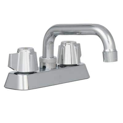 2-Handle Laundry Faucet in Chrome