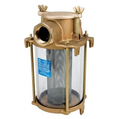 3/4 in. Pipe Bronze Intake Water Strainer