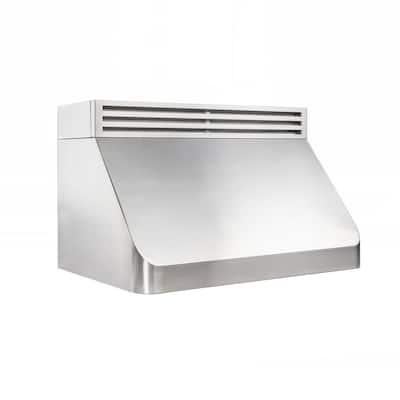 42 in. Recirculating Under Cabinet Range Hood in Stainless Steel
