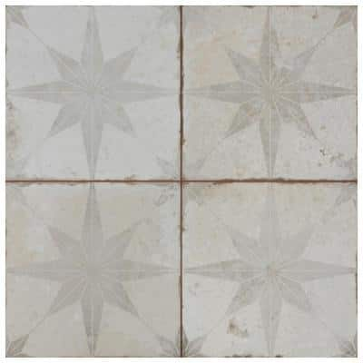 Kings Star White 17-5/8 in. x 17-5/8 in. Ceramic Floor and Wall Tile (11.02 sq. ft./Case)