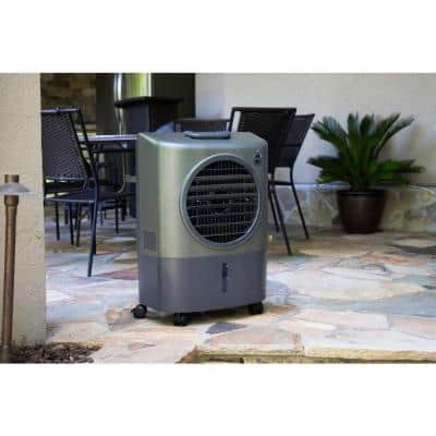Reconditioned 1300 CFM 2-Speed Portable Evaporative Cooler (Swamp Cooler) for 500 sq. ft. in Green