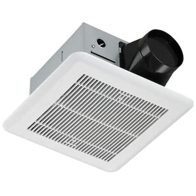 80 CFM Ceiling Roomside Installation Quiet Bathroom Exhaust Fan ENERGY STAR