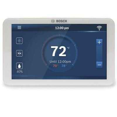 BCC100 Connected Control 7-Day Wi-Fi Internet 4-Stage Programmable Color Touchscreen Thermostat with Weather (10-Pack)