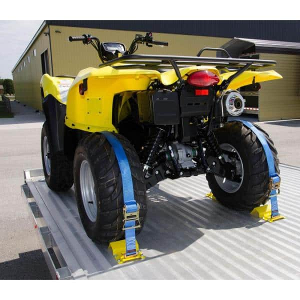 Red Erickson 06304 1-Inch x 18-Inch Motorcycle//ATV Tie-Down Assist Strap