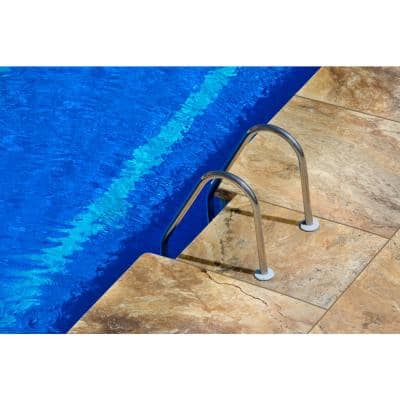 Tuscany Scabas 16 in. x 24 in. Gold Travertine Pool Coping (10 Pieces / 26.7 Sq. Ft. / Pallet)