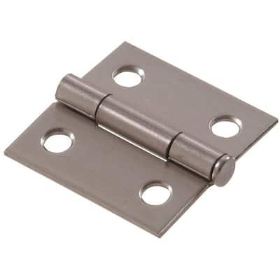 2 in. Stainless Steel Residential Door Hinge (6-Pack)