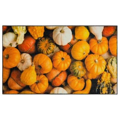 MULTI-COLOR GOURDS MULTI 1 ft. 6 in. x 2 ft. 6 in. Scatter Area Rug