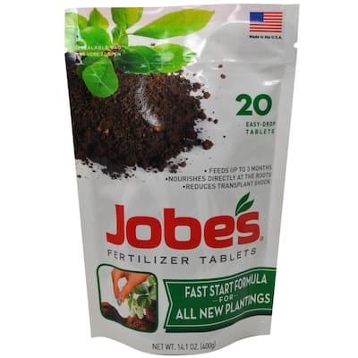 0.88 lb. Fast Start Plant Food Fertilizer Tablets (20-Pack)