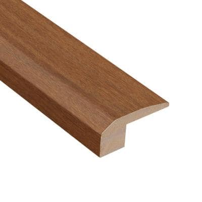 Matte Cumaru Tropic 1/2 in. Thick x 2-1/8 in. Wide x 78 in. Length Carpet Reducer Molding