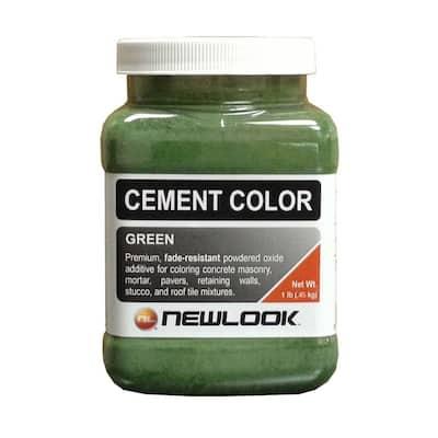 1 lb. Green Fade Resistant Cement Color