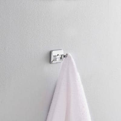 Futura Double Towel Hook in Chrome