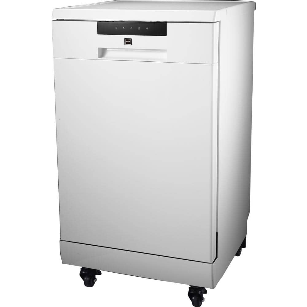 White RCA CURRDW3208 Counter Top Dishwasher