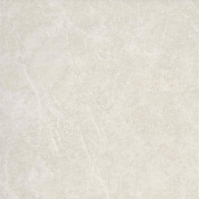 Havana White 12.28 in. x 12.28 in. Matte Stone Look Ceramic Floor & Wall Tile (20.96 sq. ft./Case)
