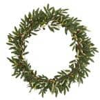 23 in. Olive Artificial Wreath