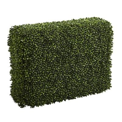 Indoor/Outdoor 41 in. Boxwood Artificial Hedge