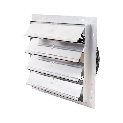 1400 CFM Shutter Exhaust Fan Wall Mounted