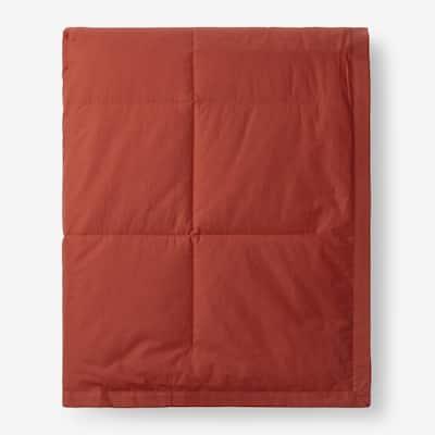 LaCrosse Down Russet Cotton Full/Queen Blanket