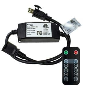 265-Watt Max Specialty Outdoor LED Dimmer for String Lights with Remote Control